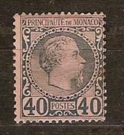 Monaco 1885 Yvertnr. 7 (*) MLH Cote 125 Euro - Monaco