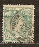 Monaco 1885 Yvertnr. 6 (°) Used Oblitéré Cote 90 Euro - Monaco