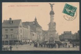 Reims Place Drouet-d'Erlon Et Fontaine Subé - Reims