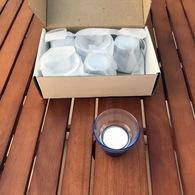 6 Photophores Spa - Neufs - Hauteur: 5 Cm - Dans Leur Boîte D'origine - Très Décoratifs - Parfums & Beauté