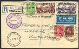 NEW ZEALAND, VF AIRPOST COVER TO SWITZERLAND 1934 - Nouvelle-Zélande
