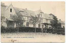 Sougné-Remouchamps : Saugnez - Villa De M. Le Ministre Francotte - Aywaille