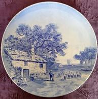 Assiette Murale Royal Boch Signée B.F.K. N°18 - Boch (BEL)