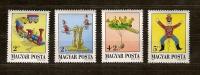 Hongrie Hongarije Ungarn 1988 Yvertnr. 3177-80 *** MNH  Cote 4,50 Euro Jouets Anciens - Nuevos