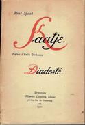 Kaatje + Diadesté Par Paul Spaak, Préface D'Émile Verhaeren, Lamertin, Bruxelles, 1921 - Théâtre