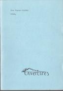 Adieu Par Jean-Claude Bologne, Éditions Ouverture, Liège, 1980 38 Pages État Neuf - Non Classés