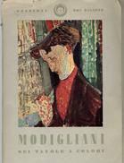 Modigliani Sei Tavole A Colori Pochette De 11 Reproductions De Tableaux Du Peintre (format 14,5 X 20,5) - Bücher, Zeitschriften, Comics