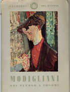 Modigliani Sei Tavole A Colori Pochette De 11 Reproductions De Tableaux Du Peintre (format 14,5 X 20,5) - Boeken, Tijdschriften, Stripverhalen