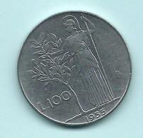 Repubblica Italiana 1955 - Monete Da 1 5 10 50 E 100 Lire - Serie Quasi Completa_ - 1946-… : República