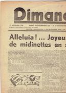 DIMANCHE Du 17/11/1946 La Louvière Saint-Joseph Bézuquet Laminoir - Kranten