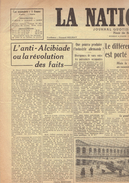 NATION BELGE 30/1/1946 Iran Russie ONU Hitler Pape Churchill Anvers Boxe Sneyers Lhost Balle Pelote - Journaux - Quotidiens