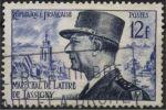 YT 982 De Lattre De Tassigny 12 F 1954