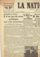 NATION BELGE 29/3/1946 Petiot Breendonck Wyss Mazerotte Bésipont Vanderstappen Hasselt Haine-Saint-Pierre Vatin Tracy - Kranten