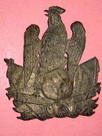 Plaque De SHAKO (Officier) 2ème République - Casques & Coiffures