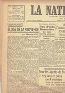 LA NATION BELGE 29/12/1946 Champetier De Ribes Marrakech Dechenne De Haas Luxembourg Racing Lierse Woestyn Jules Roy - Kranten