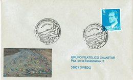 ENVELOPE CANCELLATION DESCENTE DE SELLA - CANOENING PIRAGUISMO 1984 - Canoa