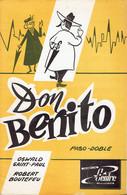 Don Benito + Corsana (Oswald Saint Paul, Robert Boutefeu, Pascal Wells, Bob Ram's) Ed. Centre, Bracquegnies La Louvière - Musique & Instruments