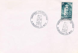 ENVELOPPE MAIZIERES LES METZ 12/06/88 - Postmark Collection (Covers)