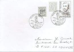 """2 Cachets Illustrés """"Portes Ouvertes 7000 Mons X"""" (4/10/1987) - Postmark Collection"""