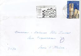 """Echecs Belle Flamme """"Belgisch Schaakkampioenschap - Oostende 6-19/7/1987"""" - Postmark Collection"""