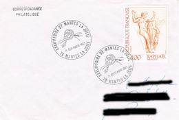ENVELOPPE Foire De MANTES LA JOLIE - Marcophilie (Lettres)