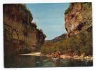 """LES GORGES DU TARN (Lozère)-1966- Promenade Barque Sur Le Tarn Lieu Dit """" Les Détroits """"(animée)-Lacapellle-Marival-46- - Gorges Du Tarn"""