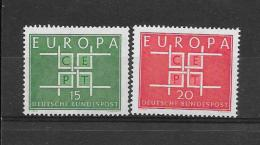 Duitsland 1963 Y&T Nr° 278/79 ** - Europa-CEPT