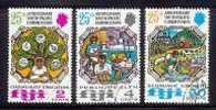 FIJI 1972 CTO Stamps South Pacific Commission 295-297 #2905 - Fiji (1970-...)
