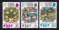 FIJI 1972 CTO Stamps South Pacific Commission 295-297 #2904 - Fiji (1970-...)