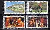 BOP 1980 CTO Stamps Tourism 64-67 #3285 - Holidays & Tourism