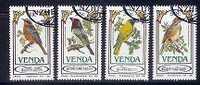 VENDA 1985 CTO Stamps Song Birds 103-106 #3468 - Birds