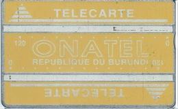 BURUNDI : BUR-06a 240u Yellow  Control 406E  2nd Quality Card ; Only 1000 Ex This Control !! - Burundi