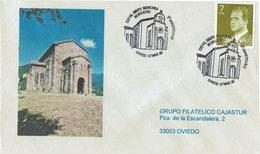 ENVELOPE CANCELLATION GROUPE D'ALPINISME - ÉGLISE MONSACRO 1985 - Escalada