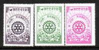 Korea 213-15  *   ROTARY  CLUB - Korea (...-1945)