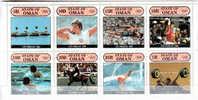 OMAN - OLIMPIC GAMES - HORSE CEVAL PFERDE CABALLO - SPORT - PERFO MNH - Cinderellas