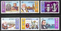 JERSEY 1985 MNH Stamp(s) Huguenot Heritage 360-365 #4273 - Jersey