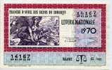 Billet Entier De Loterie Nationale - Billetes De Lotería