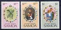 Lady Diana Samoa 1981 Yvertn° 495-97 *** MNH Cote 3 Euro - Samoa