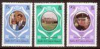 Lady Diana Turcs Caicos Yvertn°  531-33 *** MNH - Turks & Caicos (I. Turques Et Caïques)