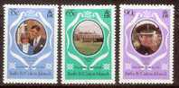 Lady Diana Turcs Caicos 1981 Yvertn°  531-33 *** MNH Cote 3,75 € - Turks & Caicos