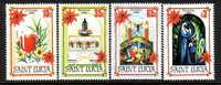 St. Lucia 702-05  **  CHRISTMAS - St.Lucia (1979-...)