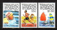 Trinidad And Tobago 412-14  **   SAILING, TRACK, SWIMMING  OLYMPICS - Trinidad & Tobago (1962-...)