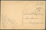 C.P. En S.M. De LIEGE 20-V-1919 Vers Trazegnies + HOPITAL MILITAIRE * Armée Belge Liège.  TB -- 1223 - WW I