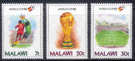 MALAWI 1982 MNH Stamp(s) Football Spain 380-382 #4588 - Soccer