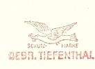 Firmcover Metermark  Gebr. Tiefenthal 20-1-1960 Bird - Duiven En Duifachtigen