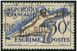 Pays : 189,06 (France : 4e République)  Yvert Et Tellier N° :  962 (o) - France