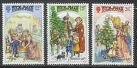ISLE OF MAN 1987 MNH Stamp(s) Christmas 348-350 #4883 - Christmas