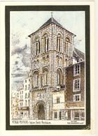 86 CPM  DUCOURTIOUX N° 868 - POITIERS - Eglise SAINT PORCHAIRE - Poitiers
