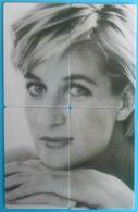 PRINCESS DIANA 1961 - 1997 ... Puzzle Set Of 4. Limited Cards * Lady Di Princesse Diana Forever England Rose British - Mode