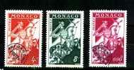 Yvert - Préos  11 - 12 - 19 -  -  Cote 2,25 € - Monaco